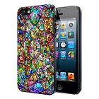 Disney All Characters Stained Glass Phone Case Cover Fits iPhone X Samsung S8
