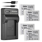 Kastar Battery Slim USB Charger for Canon NB-5L CB-2LX Canon PowerShot SD850 IS