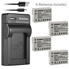 Kastar Battery Slim Charger for Canon NB-10L CB-2LC & Canon PowerShot SX50 HS