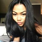 Pre Plucked 360 Wig Brazilian Straight Full Lace Wigs Human Hair Lace Front Wigs