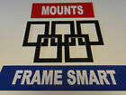 BLACK picture/photo mounts, ALL SIZES, MASSIVE CHOICE