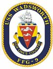 Uss Wadsworth Sticker Military Armed Forces Navy Decal M200