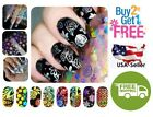 54 Colors Holographic Glitter Foil Nail Art Transfer Stickers *BUY 2 GET 1 FREE*
