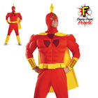 Radioactive Man Fancy Dress Costume Adults Simpsons Disguise