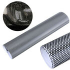 Headlight Car Tinting Tint Perforated Mesh Film Like Fly-Eyes Size 30cm x107cm