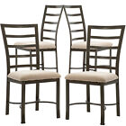 Set of 2 or 4 Dining Chairs? Kitchen Room Breakfast Wooden Furniture Dining Set