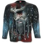 Spiral Direct VIKING WRAP All Over Long Sleeve Printed T-Shirt, Rock, Celtic
