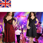 Womens Dress Plus Size Cocktail Party Evening Formal Dresses Gothic MM Halloween