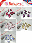 8pcs Authentic Swarovski 6670 18mm De-Art Pendants - Please select colour