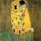 The Kiss by Gustav Klimt, Giclee Canvas Print, in various sizes