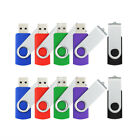 10-Bulk 1GB 2GB 4GB 8GB 16GB USB 2.0 Flash Pen Thumb Drives Memory Sticks U Dish