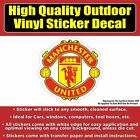 Cute Home Decoration Manchester United Soccer Football Vinyl Car Window Laptop Bumper Sticker Decal Flowers Home Decor
