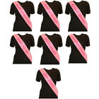 Hen Night Pink Sash Bride Accessories Party Sashes Girls Night Out