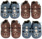 MINIFEET SOFT LEATHER BABY BOY SHOES 0-6,6-12,12-18, 18-24 Months - BOYS SANDALS
