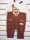 Infant Boys Rumble Tumble $20 2pc Raccoon Outfits Size 0/3 Months - 3/6 Months