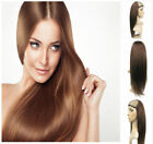 Remeehi Straight Machine weft cap Indian Remy 100%  Human Hair Glueless Half Wig