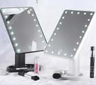 22 LED Light Up Illuminated Make Up light up Bathroom Mirror With Magnifier 2018