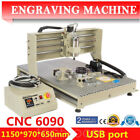 6090 4Axis CNC Router Engraver MACH3 Control PCB Wood Metal Milling Machine- USB