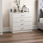 Riano Chest Of Drawers Bedside Cabinet Dressing Table Wardrobe Bedroom White