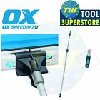 OX Tools Speedskim ST/SF/PF Universal Telescopic Plastering Pole & Attachment