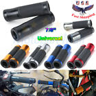 "7/8"" CNC Handlebar Rubber Gel Hand Grips For Motorcycle Sports Street Dirt Bike"
