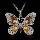 Bijoux Newly Long Pendant New Holiday Jewelry Butterfly Necklace Fashion