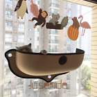 Window Mounted Cat Bed Hammock Hanging Seat Perch Pet Shelf Suction Soft Cushion