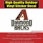 Arizona Diamondbacks Baseball Vinyl Car Window Laptop Bumper Sticker Decal on Ebay