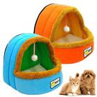 Cat House Knitted Bed Kennel Small Dog House Pet Puppy Mat Warm Bed Sleeping Bag