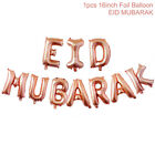 "16"" 1set Eid Mubarak Foil Balloons Rose Gold Letters Ramadan Hanging Decoration"