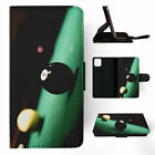 SNOOKER POOL TABLE BALLS 2 FLIP CASE FOR IPHONE 5 5S SE 6 6S 7 8 X PLUS $10.66 USD on eBay