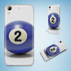 SNOOKER POOL TABLE BALLS 7 HARD CASE FOR HTC DESIRE 816 820 826 10 PRO $8.87 USD on eBay
