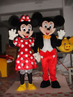 Birthday party Dress Mickey & Minnie Mouse couple Mascot Costume Party Adult UK