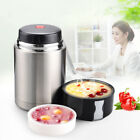 Stainless Steel Food Container Lunch Vacuum Insulated Box Food Jar 800ml Thermos