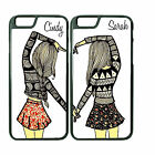 best iphone protection cases - Best Friend Couple Phone Case Cover For iPhone  iPod with ANY NAME