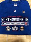 CHICAGO CUBS WORLD SERIES CHAMPIONS SHIRT NORTH SIDE PRIDE on Ebay