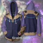 2018 Avengers Infinity War Thanos Coat Hoodie sweater Cosplay Costume clothes
