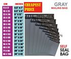 Grey Mailing Bags Strong Poly Postal Postage Post Mail SelfSeal MIXED ALL Sizes