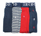 New IZOD Mens Cotton Knit Boxers 4-pack