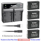 Kastar Battery Dual Charger for Canon LP-E17 LPE17 LC-E17E & Canon EOS M3 Camera
