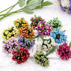12pcs Berry Artificial Handmade Flower For Wedding Home Decoration Fake Flower^t