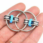 Bicycle Chain Fidget Metal Hand Spinner Key Ring Sensory Toy Stress Relieve Fsp