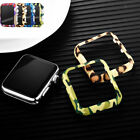 For Apple Watch 38mm & 42mm Camouflage Hard Bumper Frame Protective Case Cover