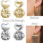 4 Pcs Magic Bax Earring Backs Support Earring Lifts Hypoallergenic Fits All