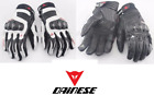 Dainese Carbon Fiber Leather Gloves Touchscreen Carbon Frame