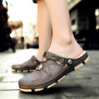 Summer Men Beach Sandals Breathable Slippers Hollow out Garden Hole Shoes US7-11