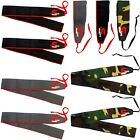 """Wrist Wraps Weight Lifting Straps Gym Training Support 35"""" Cotton Mulitcolor"""