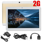 10.1'' Android 7.0 Tablet PC 2G/4G + 64GB Octa 8 Core HD WIFI Bluetooth 2SIM GPS