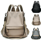 Convertible Water Resistant Backpack Rucksack Purse Shoulder Bag Hobo Anti-Theft