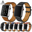 Single Tour Leder Armband Ersatz Für Apple Watch Series 4/3/2/1 40/44/38/42mm DE
